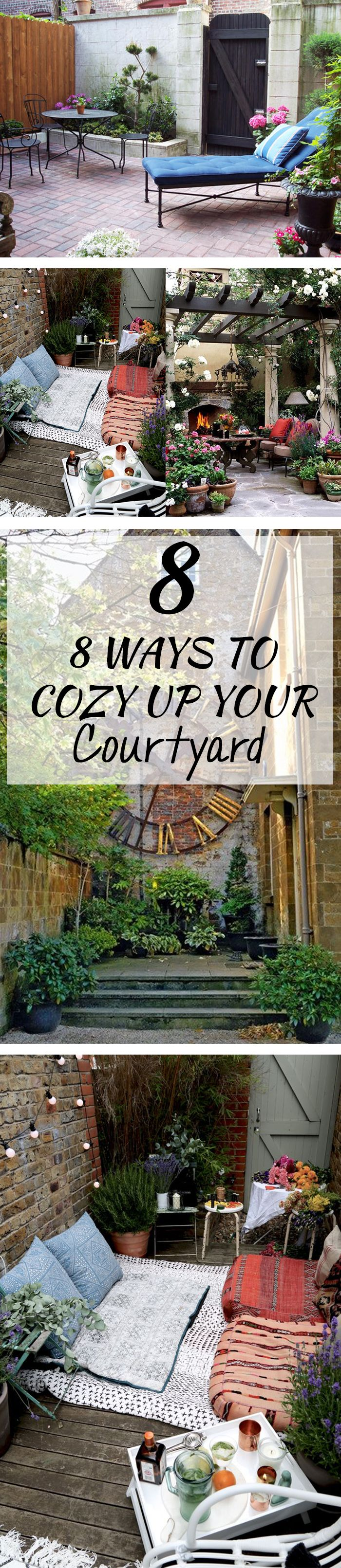 Shared Privacy (or not!) ~ The COZY COURTYARD