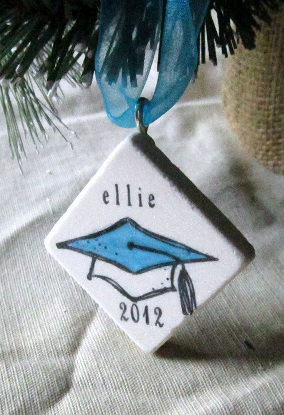 Personalized Graduation Ornament including Gift by MyLittleChick
