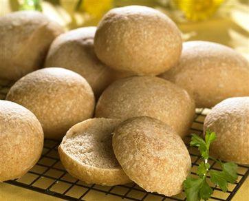 Nem og god opskrift på grove teboller med grahamsmel og hørfrø