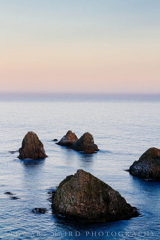 Rocks at Nugget Point
