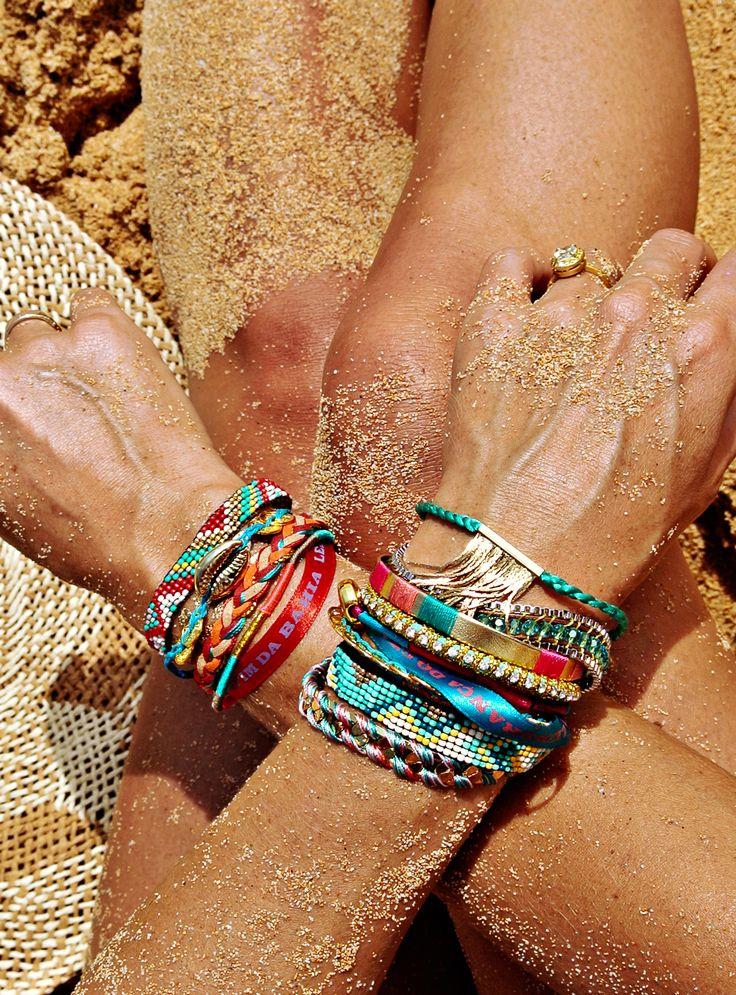 sun, sand, tan, & arm candy..