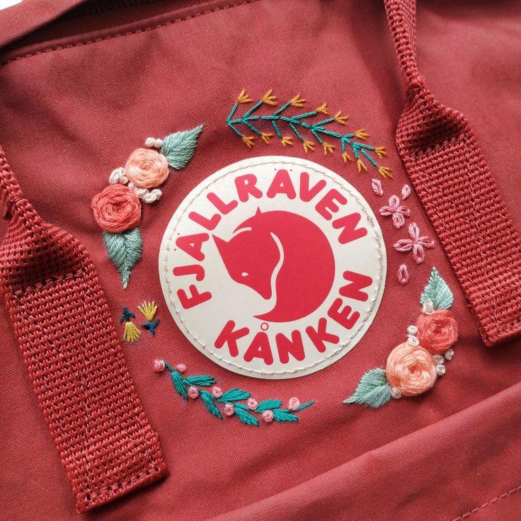 Embroidered Kanken