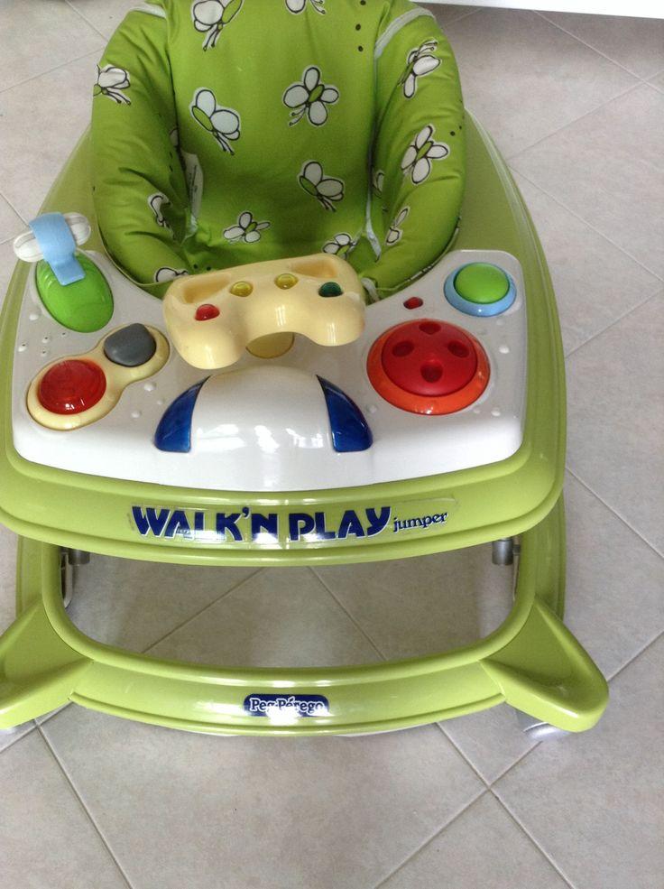 Girello PEG PEREGO WALK'N PLAY JUMPER VERDE