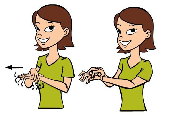 ASL sign for spider