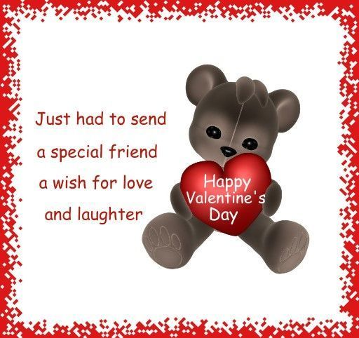 Schön Happy Valentines Day Quote For A Friend Valentines Day Valentines Day  Quotes Happy Valentines Day Happy