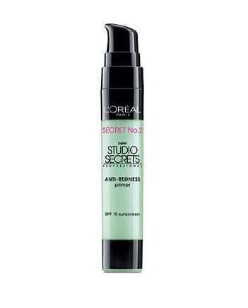 L'Oréal Studio Secrets Anti-Redness Primer | 22 Inexpensive Beauty Products That Actually Work