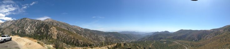 Azusa Canyon, feel on top of the world. Amazing view!