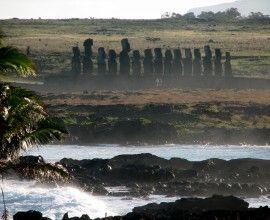 Ahu Tongariki con 15 moai