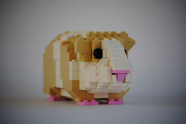 Guinea pig lego (so cute!)