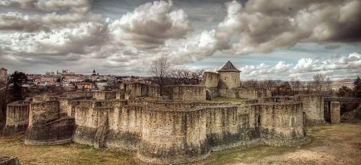 Fortress of Suceava by Bogdan Cozariuc