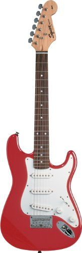Squier by Fender Mini Guitar, Torino Red $99.99 (save $80.00) + Free Shipping