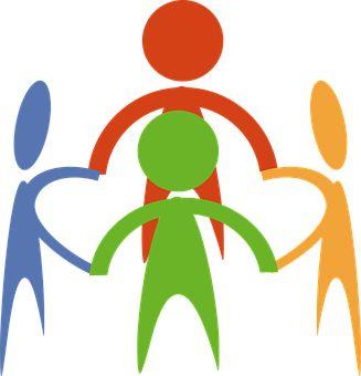 Gruppe, Cirkel, Samfund, Hænder