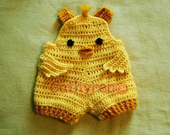 These little bear overalls shorties are great for spring warm days. The waist band can be turned up and down to have Peek-A-Boo bear face!