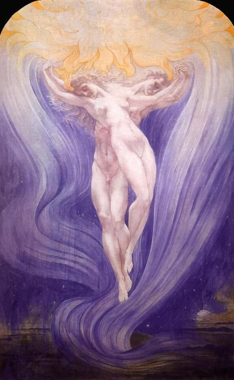 The Love of Souls - Jean Delville  1900