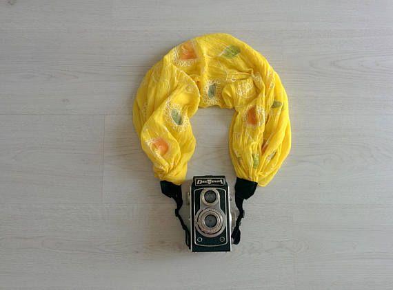 Camera strap Scarf camera strap Camera strap scarf Scarf camera strap DSRL camera strap Photographer accessories Camera accessories