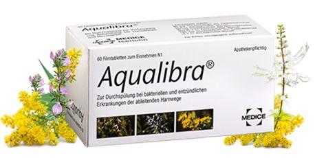 Aqualibra® bei Blasenentzündung (Zystitis)   Aqualibra®
