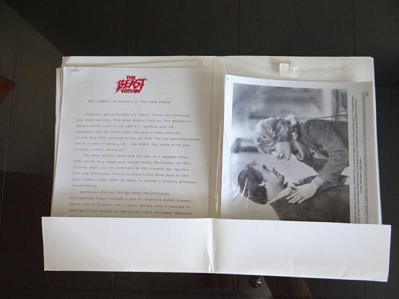 Original MGM Studios Movie Press Information Kit 1982