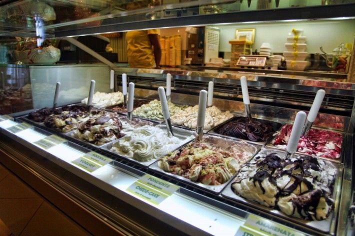 My favorite gelateria is La Carraia. Located across the river, but right on it, La Carraia is not only delicious and fresh, but you can get a scoop for only one euro!