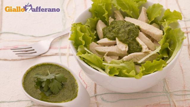 Pollo in salsa verde
