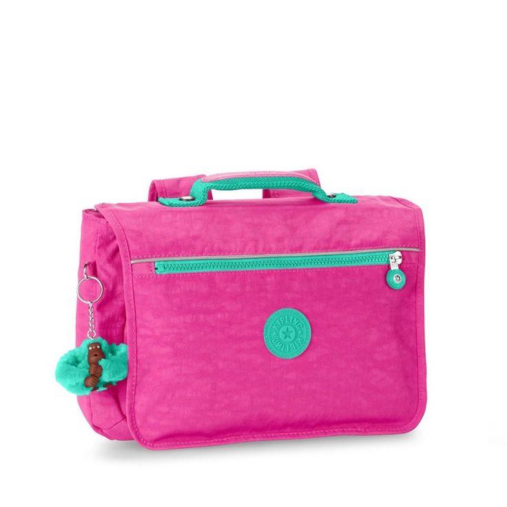 Kipling New School Backpack in Breezy Pink