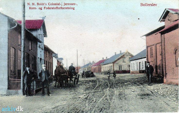 arkiv.dk | Hovedgaden, Bolderslev 1903
