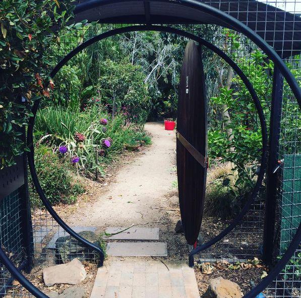 What a pleasure working in this enchanting #garden yesterday #gardendesign #gardening #landscapedesign #gate #melbourne