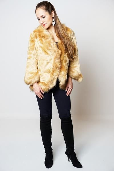 """Perfect autumn winter wearAvailable in different coloursGorgeous all over warm soft faux furOne Size (U.K 8-16, EU 36/44, US 4/12)Approx length:25""""(64cm)100% Po"""