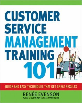 Becoming a great customer service manager requires a mastery of skills beyond those needed by frontline employees. Filled with the same accessible, step-by-step guidance as Customer Service Training 101, this user-friendly book shows readers how to develop the skills they need to communicate, lead, train, motivate, and manage those employees responsible for customer satisfaction.