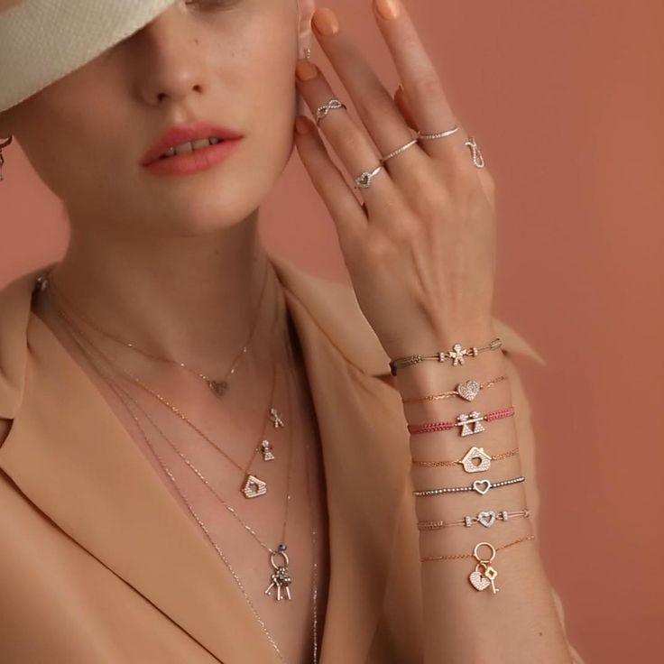 Kurshuni perfect silver bracelet and rings ❤️