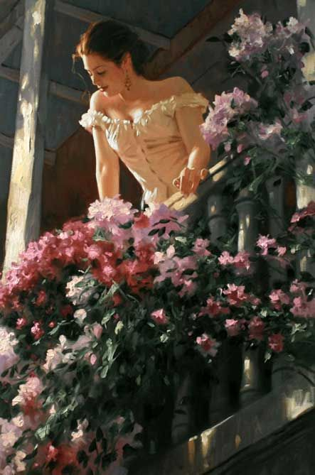 Cartagena by Richard S Johnson - Stunning! oil paintings from http://www.paintingsframe.com/