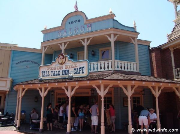 Pecos Bill Cafe 01 - Disney Photo Gallery