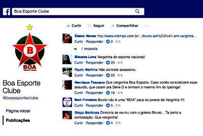 Blog do jornal Folha do Sul MG: BOA ESPORTE ENFRENTA PROTESTOS POR CONTRATAR GOLEI...