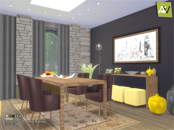 106 best images about furnitures dining room sims4 on for Sims 3 dining room ideas