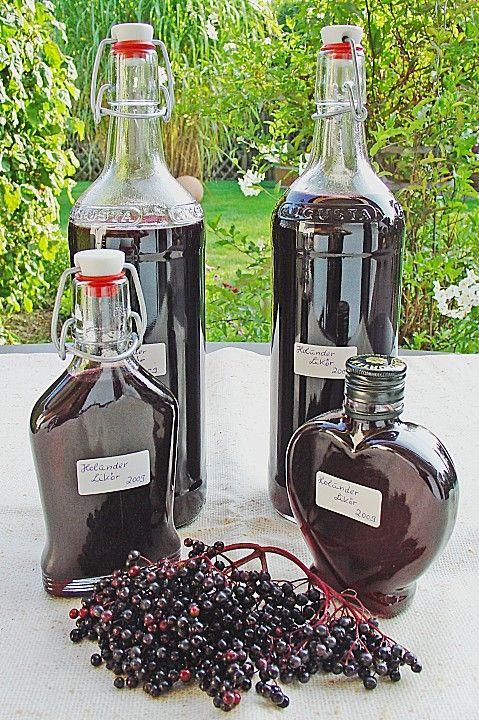 Holunderlikör, ein schönes Rezept aus der Kategorie Herbst. Bewertungen: 20. Durchschnitt: Ø 4,4.