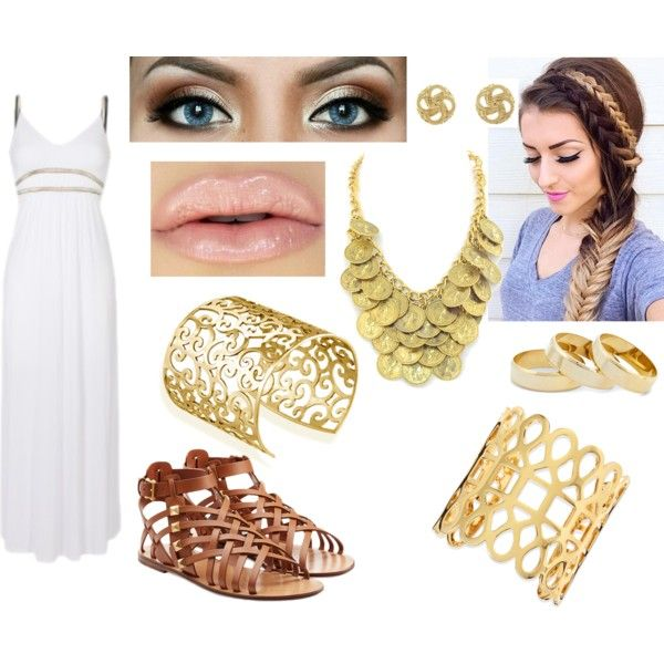 Ancient Greece by elecktra94 on Polyvore featuring moda, Valentino, Tory Burch, Mondevio, Sole Society and Charlotte Russe
