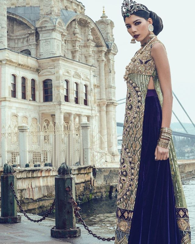 Get the Royal Look at Faika Karim Store! Anam Malik in the ISTANBUL BRIDAL COLLECTION! To view the details in real, book an appointment on 07447535185 or email info@faikakarim.com