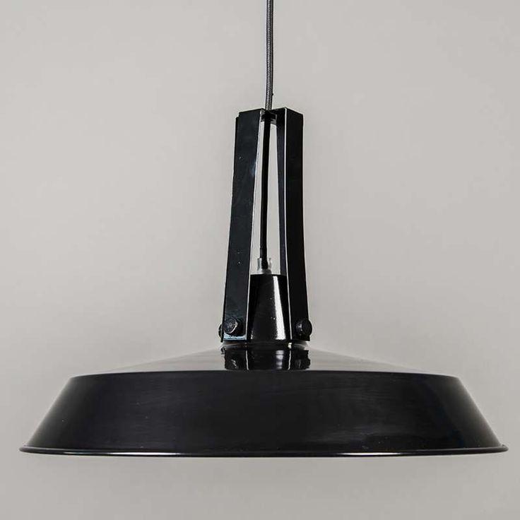 Lampa wisząca Living 40cm czarna
