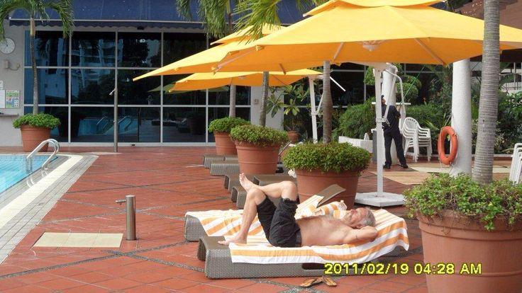 Pan Pacific hotel Singapore ..take a nap