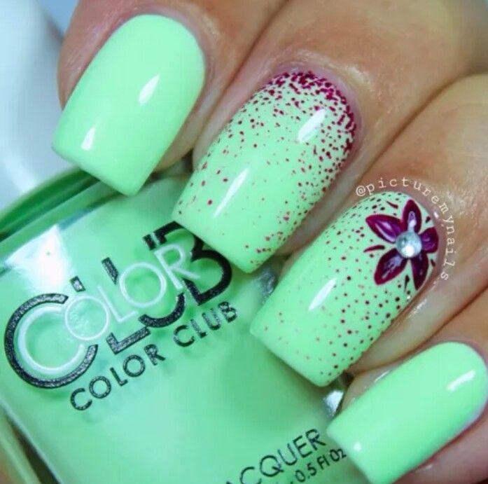 104 mejores imágenes de nails en Pinterest   Uñas bonitas, Diseño de ...