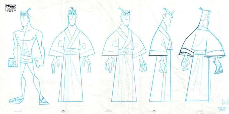 Samurai Jack by Dexter Smith
