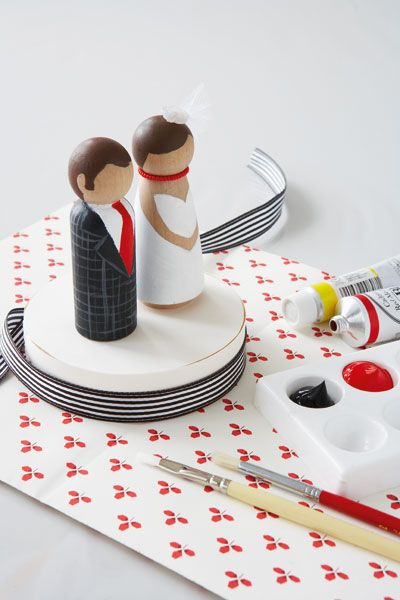6a00e551ae05e388340147e0e0c9ab970b-pi 400×600 pixels: Wooden Dolls, Ideas, Bride And Grooms Cakes Toppers, Bride Grooms, Handmade Wedding, Groom Cake, Diy Cakes, Wedding Cakes Toppers, Cake Toppers