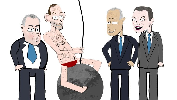 Tony Abbott - Wrecking Ball  << This is brilliant and yet, painfully, sadly true. And it goes on. They have built/done nothing. They are too busy pulling apart everything the previous gov achieved, no matter how popular or wanted by the people he supposedly governs for.