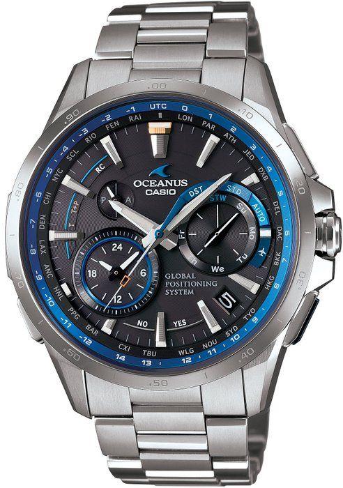 CASIO OCEANUS OCW-G1000-1AJF GPS HYBRID WAVECEPTOR Men's WATCH