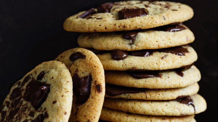 Secret ingredient chewy choc-chip cookies