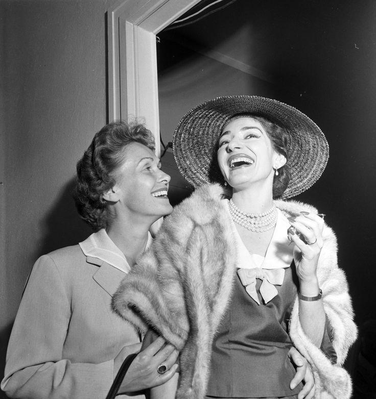 Elisabeth Schwarzkopf & Maria Callas at La Scala http://www.archiviolascala.org/
