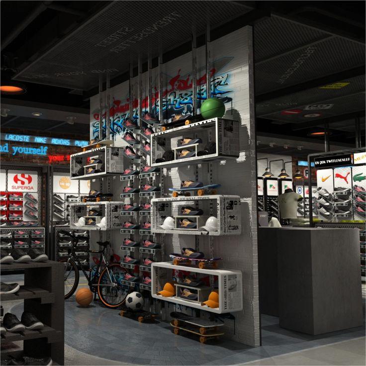 Sport In Street retail design