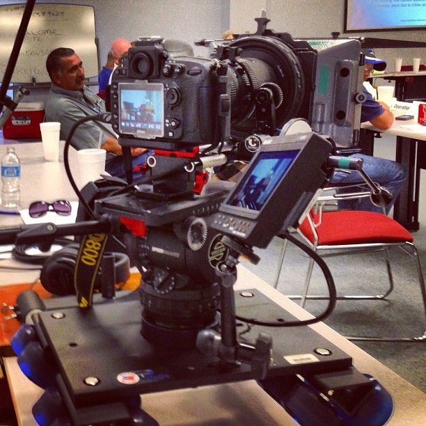Our D800 on our Dana Dolly.