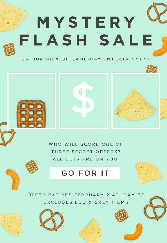 LOFT: Mystery flash sale