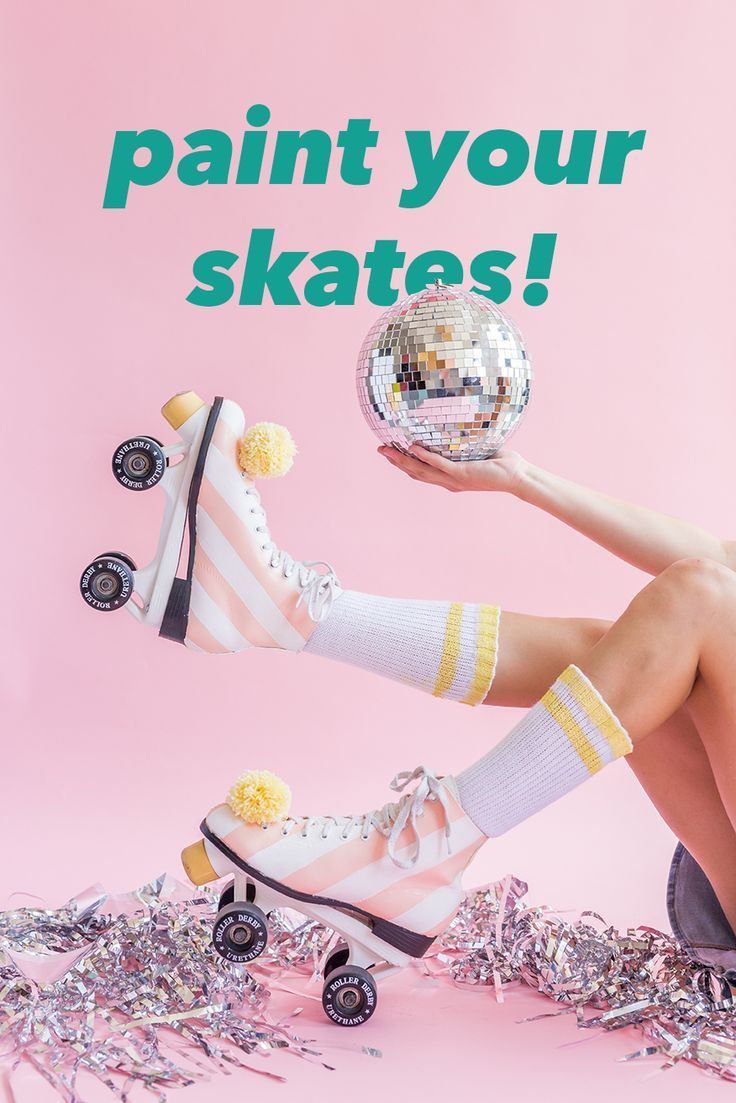 Diy paint your roller skates the house that lars built