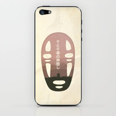 Spirited Away iPhone & iPod Skin by OurbrokenHouse - $15.00